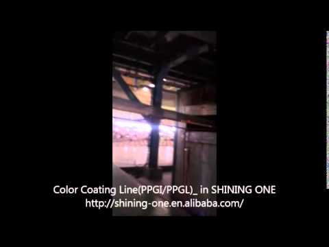 Color Coating Line for Prepainted Galvanized/Galvalume Steel Coil in SHINING ONE