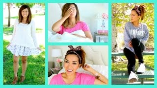 Back To School Makeup + OUTFIT IDEAS!! - ThatsHeart Thumbnail