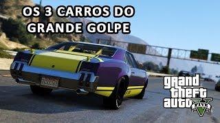 GTA V - Grande Golpe - Localização dos carros de fuga- GTA 5