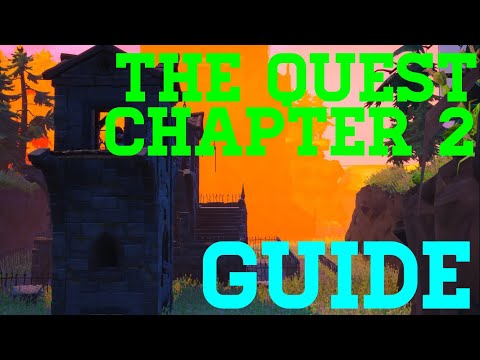 How To Complete The Quest Chapter 2 By Lundleyt - Fortnite Creative Guide