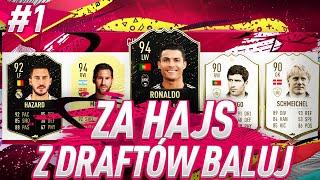 TRAFIŁEM NOWEGO CR7! - FIFA 20 ZA HAJS Z DRAFTÓW BALUJ #1