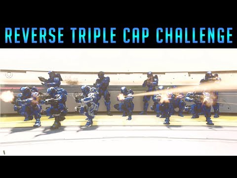 The Warlords Reverse Triple Cap Challenge #1 - Battle Of Noctus Halo 5 Warzone
