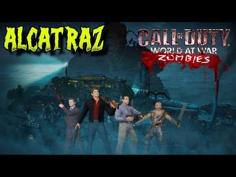 *AMAZING NEW* MOB OF THE DEAD REMAKE: ALCATRAZ - WORLD AT WAR CUSTOM ZOMBIES