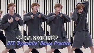 ❤JIN FOCUS❤ BTS 'Dynamite' [Dance Practice]