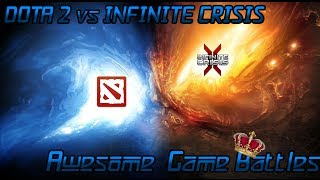 Dota 2 vs Infinite Crisis - великое сражение огня и воды