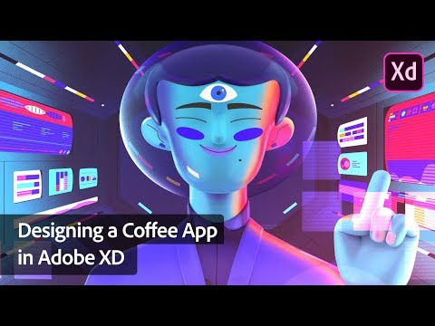 Designing a Coffee App in Adobe XD with Paul Trani