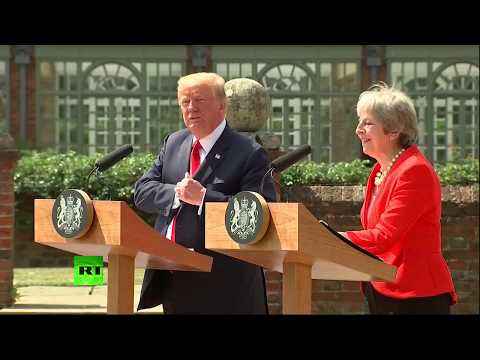 LIVE: Donald Trump and Theresa May hold joint press conference at Chequers
