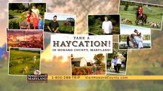 Take A Haycation in Howard County, Maryland!