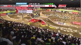 2011 AMA Supercross - RD17 Las Vegas - 250 Class West [ Part 1 of 2 ]