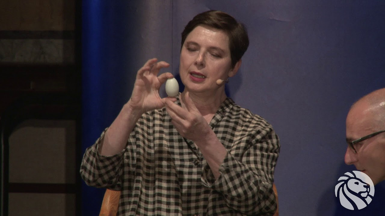 Isabella Rossellini and Menno Schilthuizen: Chicken and Eggs | 4-3-2018 | LIVE from the NYPL