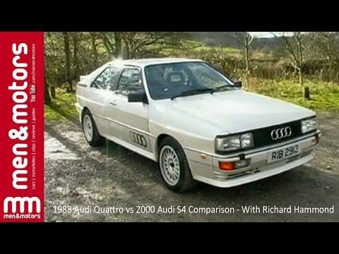 1988 Audi Quattro vs 2000 Audi S4 Comparison - With Richard Hammond