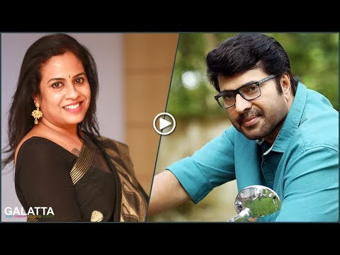 Full set goes crazy for Mammootty - Lizzie Antony I Exclusive Interview
