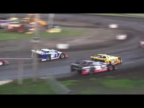 IMCA Late Model Heats Benton County Speedway 6/2/19