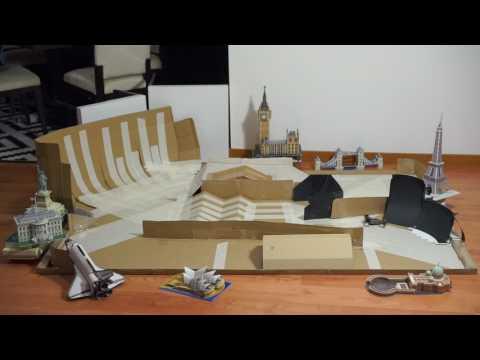 hpi-baja-q32---cardboard-indoor-stunt-track