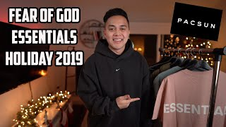 Fear of God Essentials Holiday 2019 Review and Haul