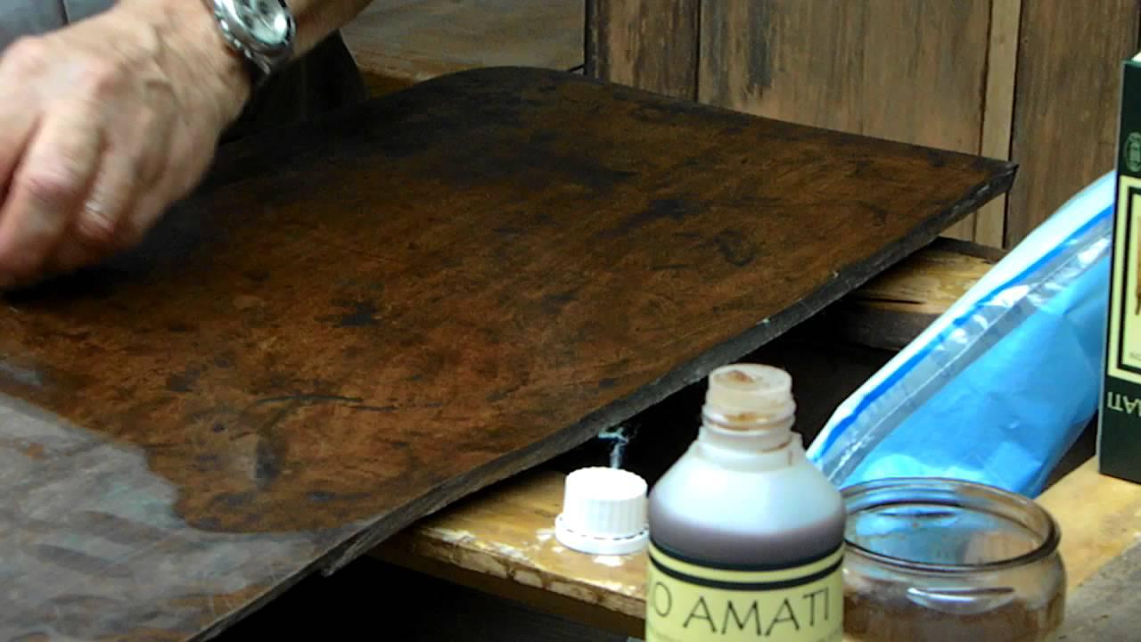 Balsamo amati lucidatura e restauro mobili parte1 youtube - Restauro mobili impiallacciati ...