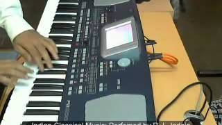 Indian Classical Music on Korg PA500 (Performed by R. I. Jadeja)