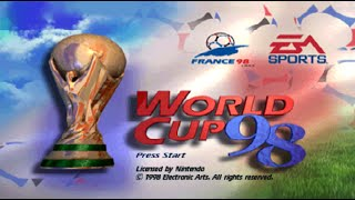Nintendo 64 Longplay [033] World Cup 98