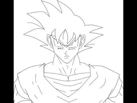 how to draw goku como desenhar o goku youtube