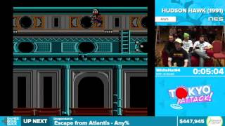 Hudson Hawk by WhiteHat94 in 8:19 - Awesome Games Done Quick 2016 - Part 96