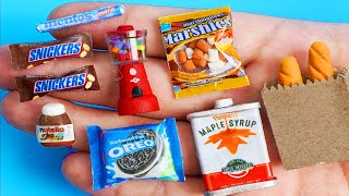 36 DIY MINIATURE BARBIE ~ Miniature of Food and Drinks, Life Hacks crafts !!!