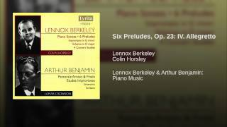 Six Preludes, Op. 23: IV. Allegretto