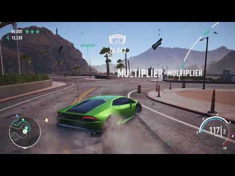 NFS Payback - 3 Stars in all 30 Drift Zones (with Map Locations)