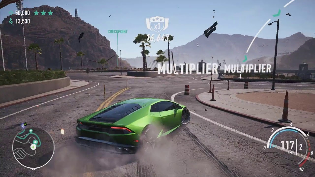 Nfs Payback 3 Stars In All 30 Drift Zones With Map Locations