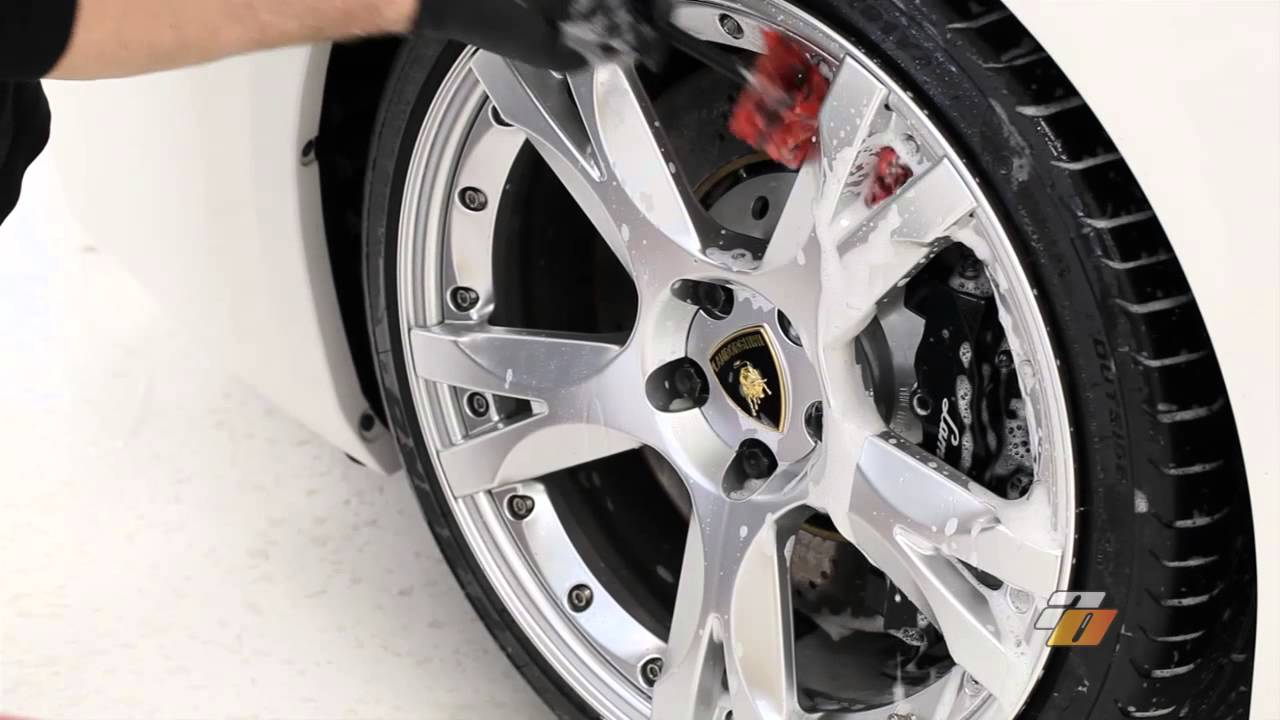 tutorial how to wash car wheels and tires demonstration by auto obsessed youtube