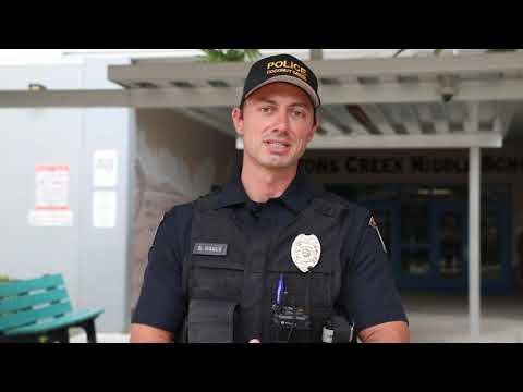 Officer Houle's End-of-Year Message to Students and Staff at Lyons Creek Middle School