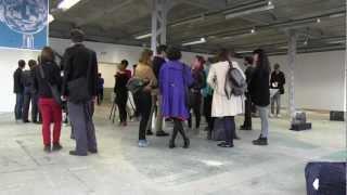Vues d'expo : Le Dos du Désert, CREDAC, Ivry-sur-Seine ( vidéo alternatif-art.com)