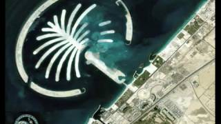 Timelapse Construction of Palm Jumeirah Tree Island using Satellite Images