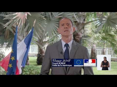 VOEUX 2018 du Préfet de la Martinique