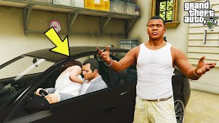 What do Michael and Amanda do in The Car in GTA 5? (Franklin Caught Them)