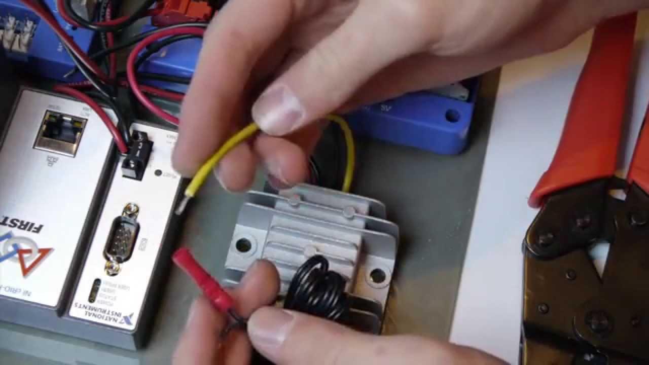 FRC Kitbot Electronics Build - YouTube