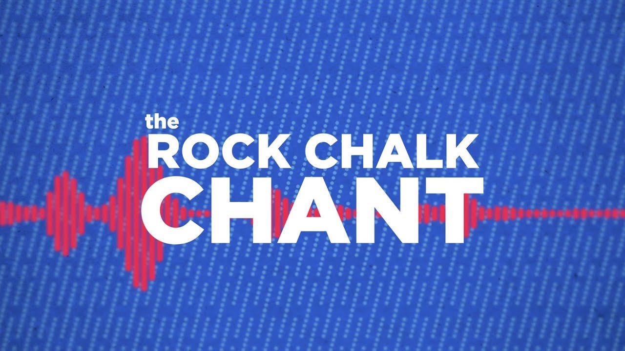 where did the rock chalk chant come from youtube