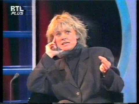 RTLplus 1987 Susanne Kronzucker Interview mit Gitte