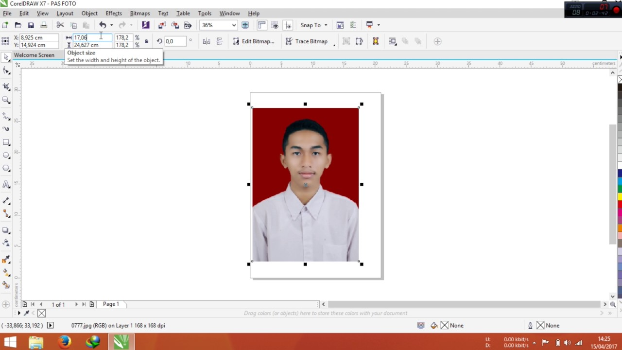 Cara Mengedit Gambar Di Corel Draw X7 - AR Production