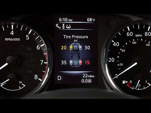 Nissan Tire Pressure Monitoring | System Details & Features