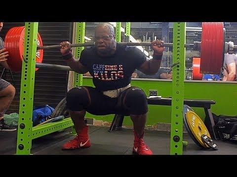 771 Lbs x 3 (350 Kg) Squat No Knee Wraps | BOB 4 Prep # 6