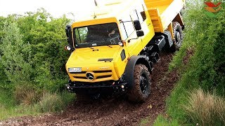 Offroad Parcours RETTmobil 2018 in Fulda inkl. 5+ Min. Inside Cam View Video UNIMOG
