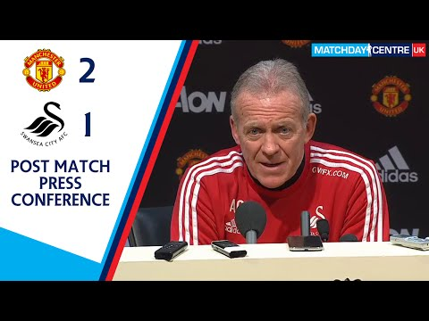 Manchester United 2-1 Swansea City : Alan Curtis Press Conference