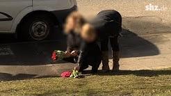 Dreifache Mutter auf offener Straße in Kiel getötet