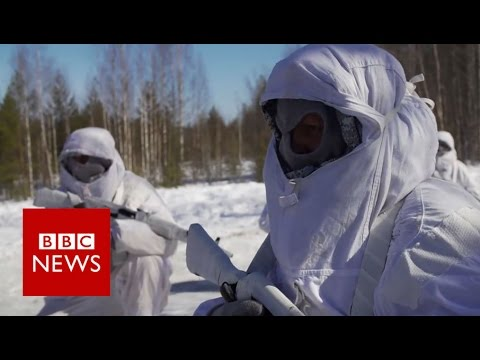 Meet Russia's Arctic Brigade - BBC News