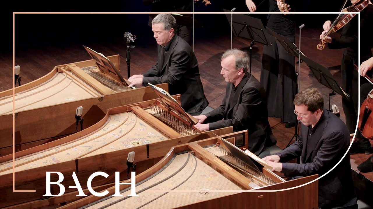 Bach - Concerto for three harpsichords in D minor BWV 1063 - Mortensen | Netherlands Bach Society