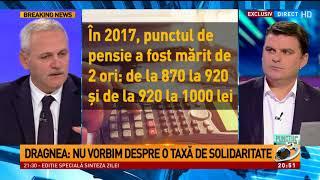 Liviu Dragnea, despre taxa de solidaritate