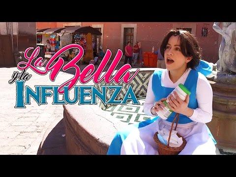 La Bella y la Bestia Parodia #Influenza