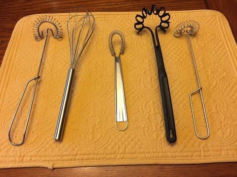 Monday Favorite Gadget - Whisks -  Lynn's Recipes - 1/12/15