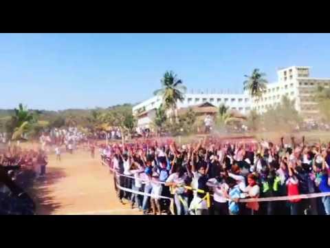 SAHYADRI COLLEGE  HOLI FEST IN MANGALORE