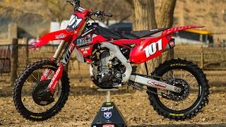 The 2016 Honda CRF250R has a significantly updated engine but we wa...